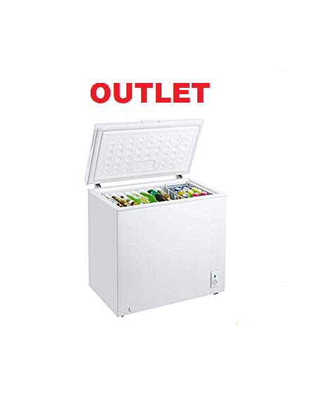 Congelatore ELTEK OUT. Orizzontale Classe A+ Capacità Netta 200 Litri Colore Bianco Cod