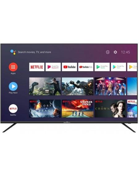 "Smart TV SMART TECH 55"" UHD 4K Wi-Fi (DVB-T2 / T/C / S2 / S, Colore Nero cod: SMT55F30UV2M1B1"