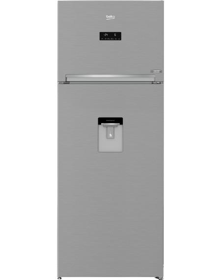 Frigorifero BEKO Doppia Porta No Frost Classe A+ Capacità 402 Litri Colore Argento cod: RDNE455E30DZXBN