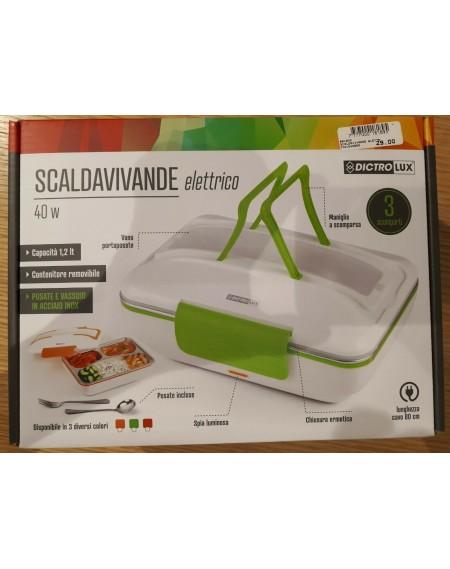 Scaldavivande Dictrolux Lunch box 40W capacità 1,2 Lt. Cod. 881800