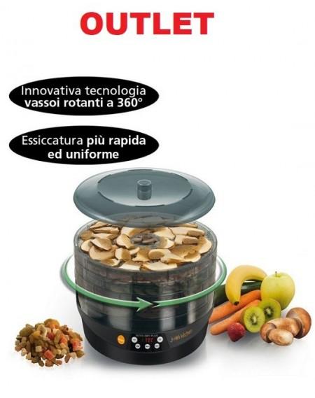 Essiccatore MACOM OUT. Per Alimenti Rotante ROTO DRY PLUS Display Digitale Con Timer e Selettore Temperatura Cod. 826