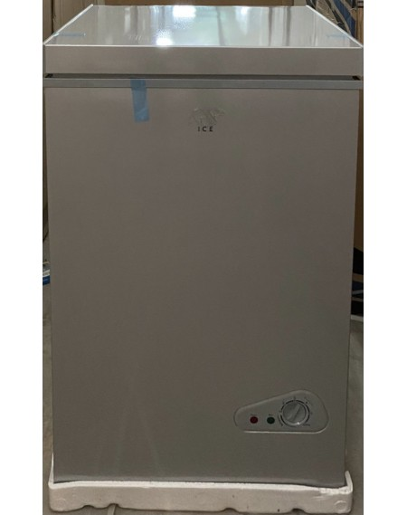 Congelatore ICE a pozzetto Classe A+ Capacità Netta 100 Litri Colore Silver