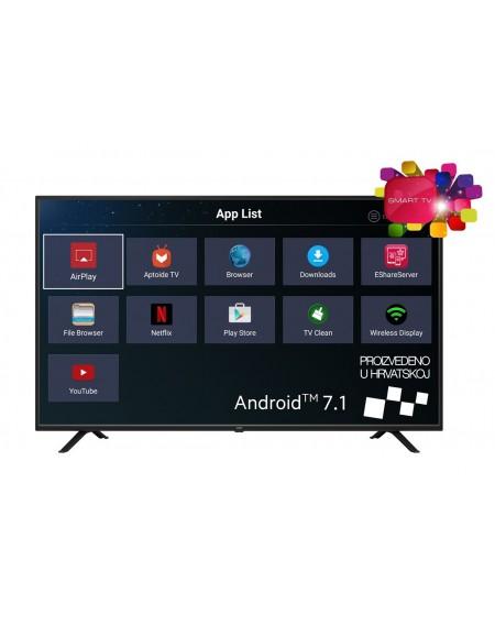 """Smart Led Tv VIVAX 55"""" UHD 4K mod: TV-55UHD122T2S2SM"""